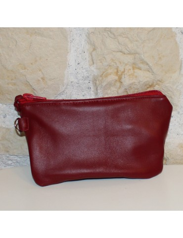 CLOUD POCHETTE IN PELLE CON...