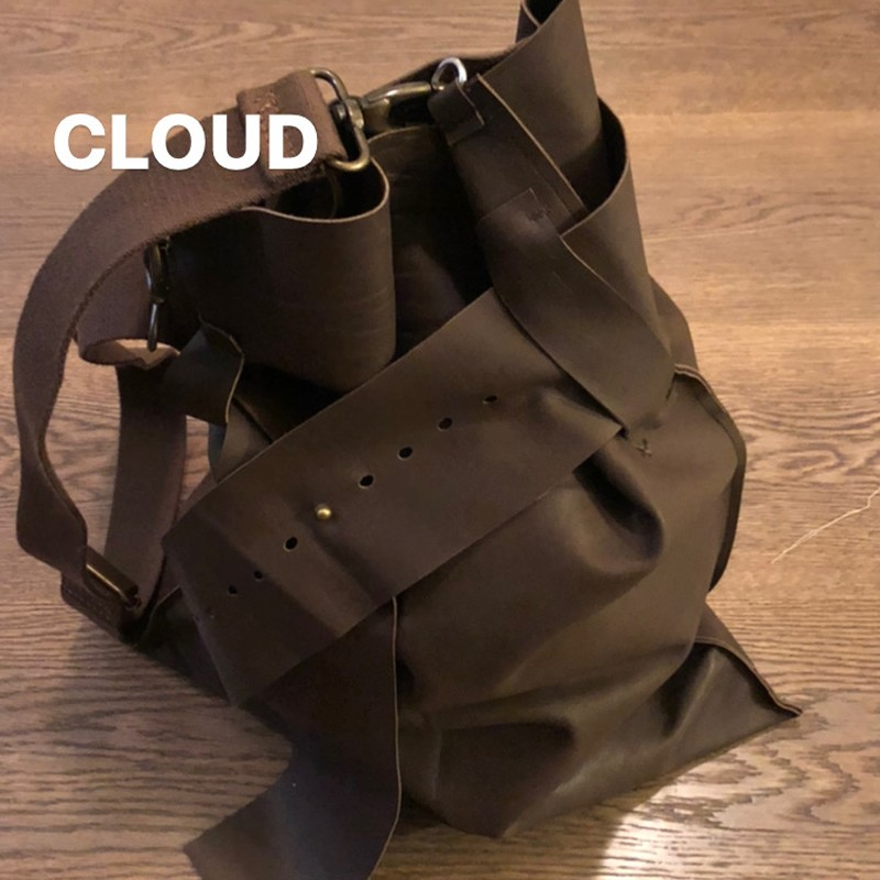 "CLOUD BAG ""BELT"" IN PELLE"